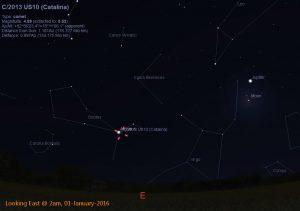 Comet Catalina - 01-Jan-2016