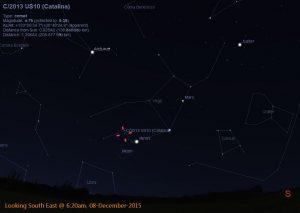 Comet Catalina - 08-Dec-2015