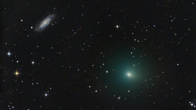 Comet 41P and NGC 3198