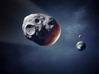 Asteroid 3122 Florence Illustration