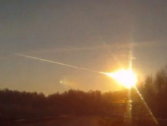 Chelyabinsk Fireball - Asteroid 2012 TC4