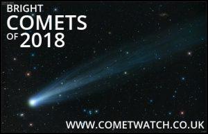 Bright Comets of 2018