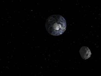 Asteroid 2018 CB Earth Flyby