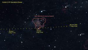 Comet 21P Finder Chart 1