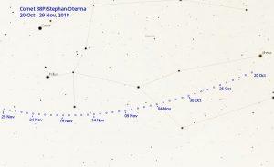 Comet 38P Finder Chart 1