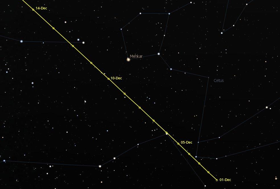 Christmas Comet 2019.Comet Wirtanen Visible Now Comet Watch