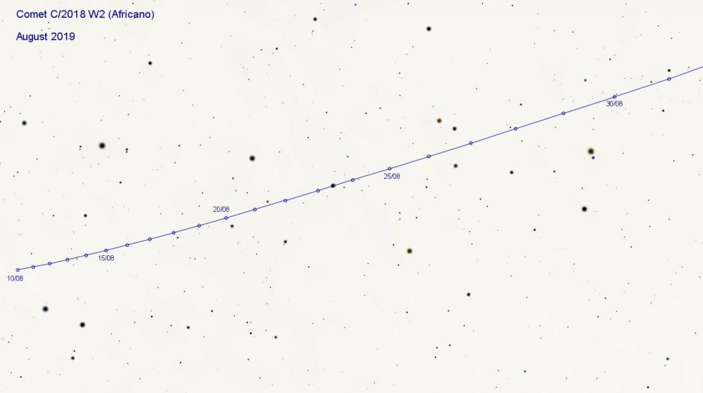 Comet C/2018 W2 Africano Zoomed
