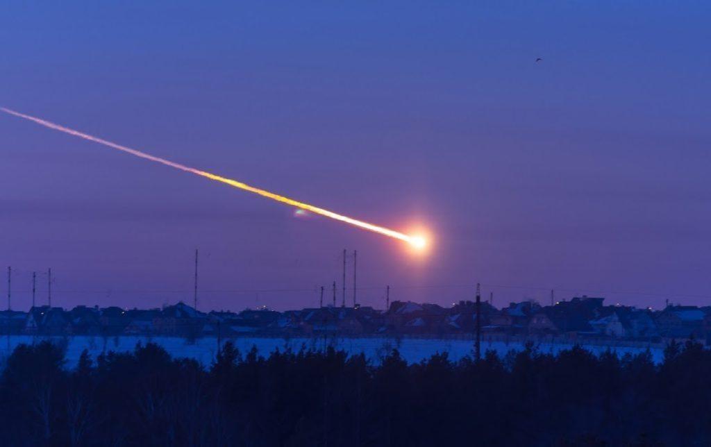 Russian Chelyabinsk Meteor