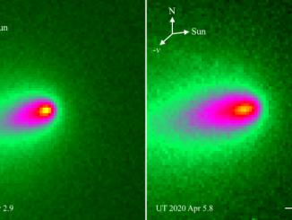 Comet Atlas Disintegrating