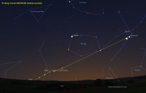 How to find Comet NEOWISE in the mornings